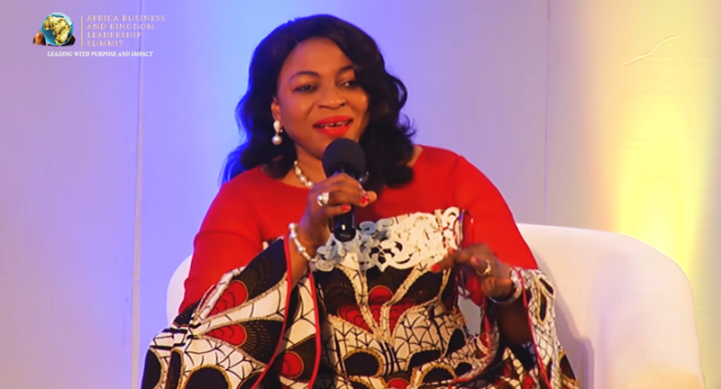 Mrs. Folorunso Alakija (Nigeria), acclaimed entrepreneur and philanthropist